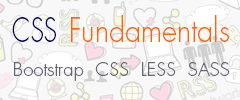 Banner for CSS Fundamentals Course
