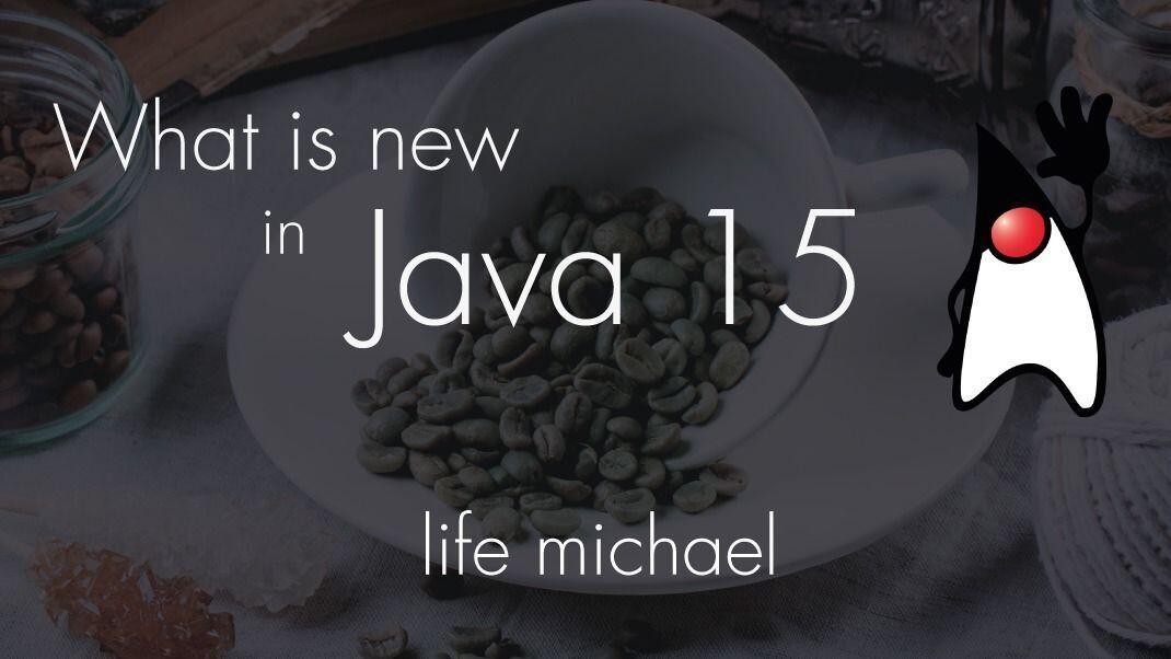Java 15 meetup banner