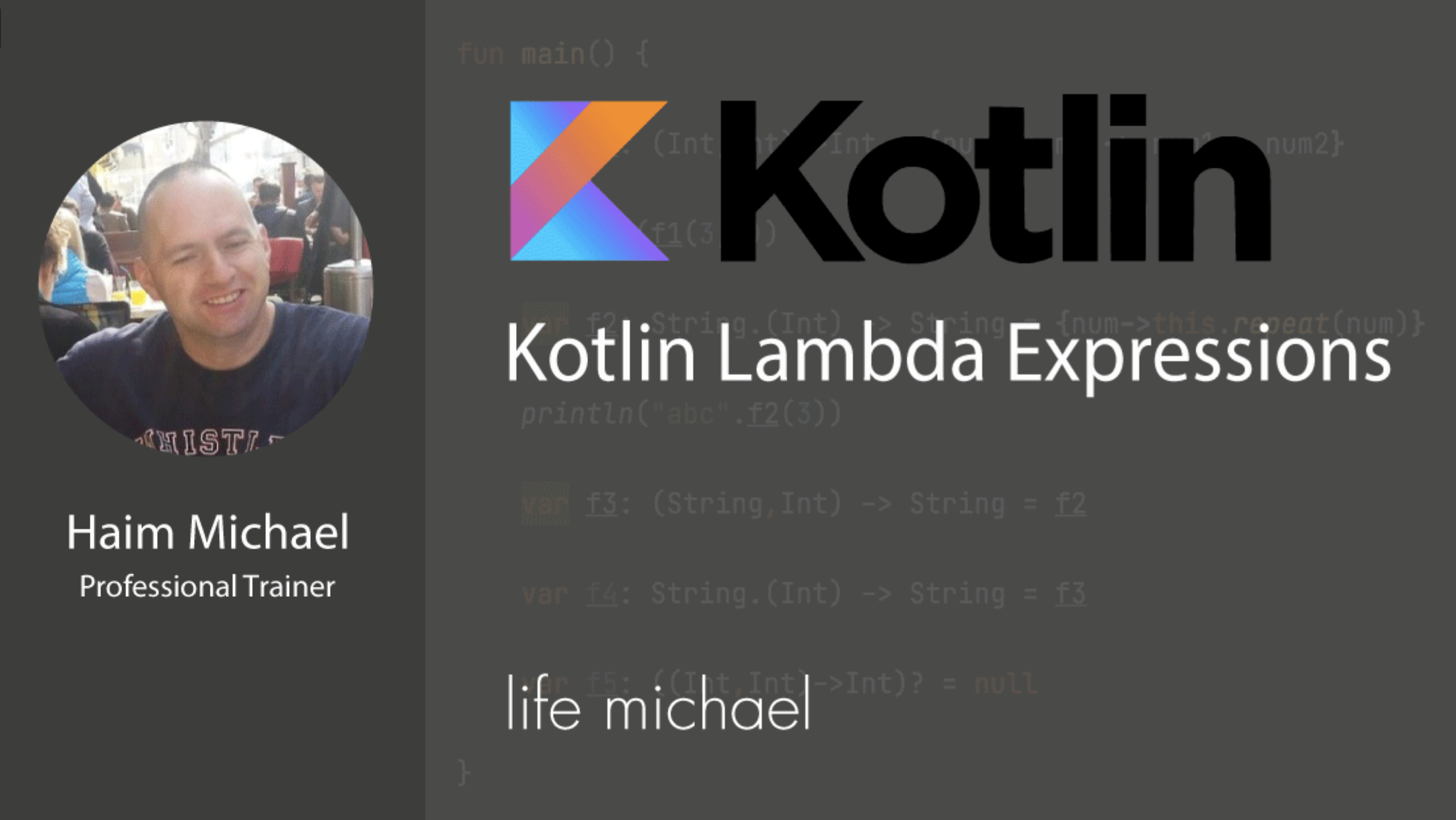 lambda expressions in kotlin