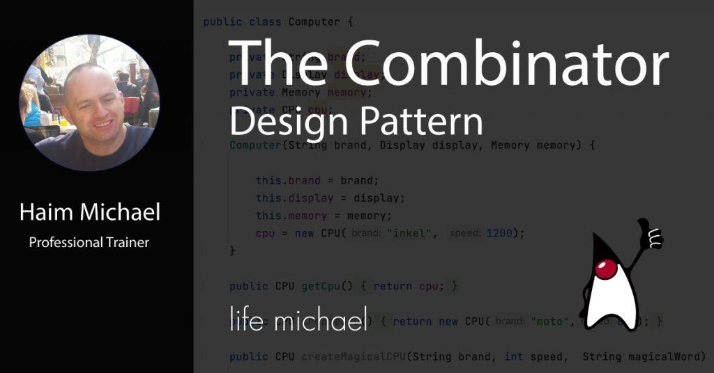 The Combinator Design Pattern Meetup Banner