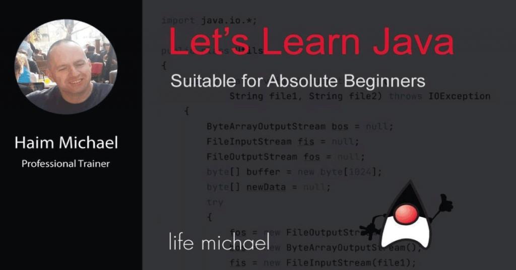 lets learn java banner