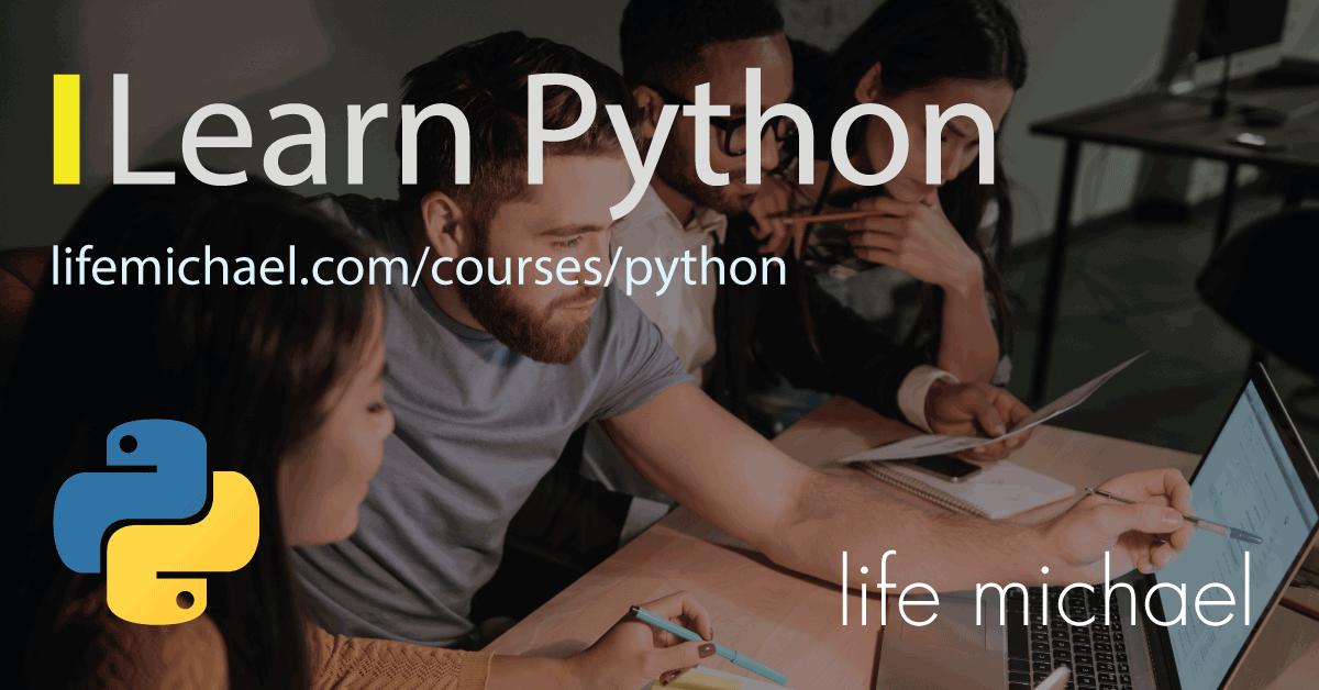 Learn Python Banner